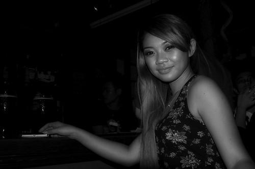 emika, BB Cafe, Gaya Street, Kota Kinabalu.