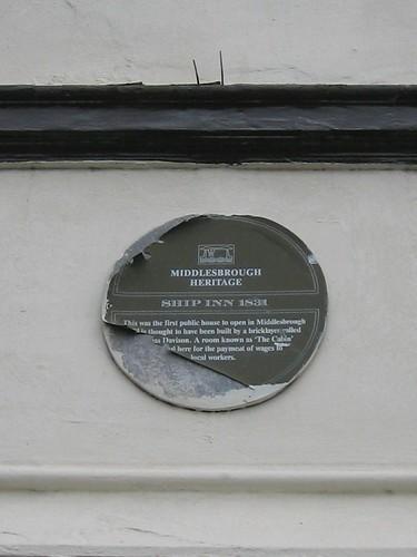 Ship Inn, Middlehaven