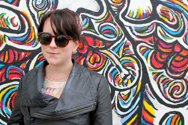 Me at the East Side Gallery