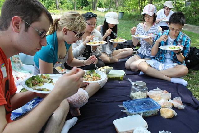 Potluck picnic lunch!