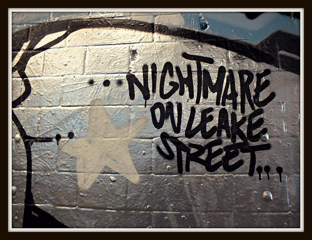 Nightmare on Leake Street, London graffiti
