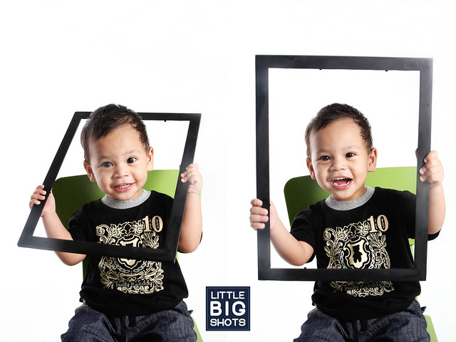 Introducing Syed Ahmad Iyad | Toddler Studio Portraiture