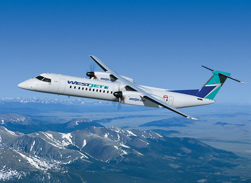 WestJet Selects Bombardier Q400 NextGen Airliner by Bombardier Aerospace