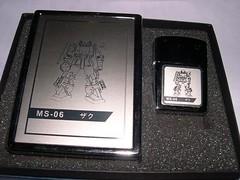 lighter with zaku plaque (3)