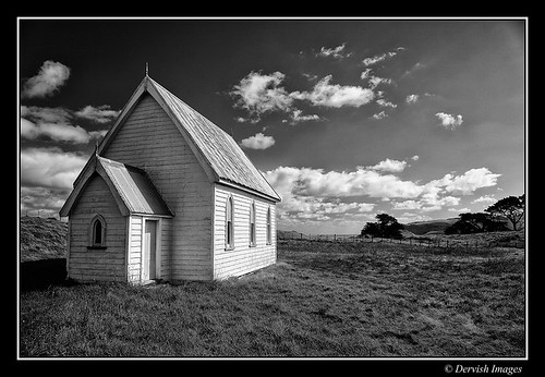 Kohekohe Church by Dervish Images