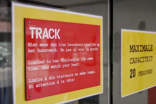 track, 't is gesloten, Erik Van Lieshout, Dampoortstraat 20