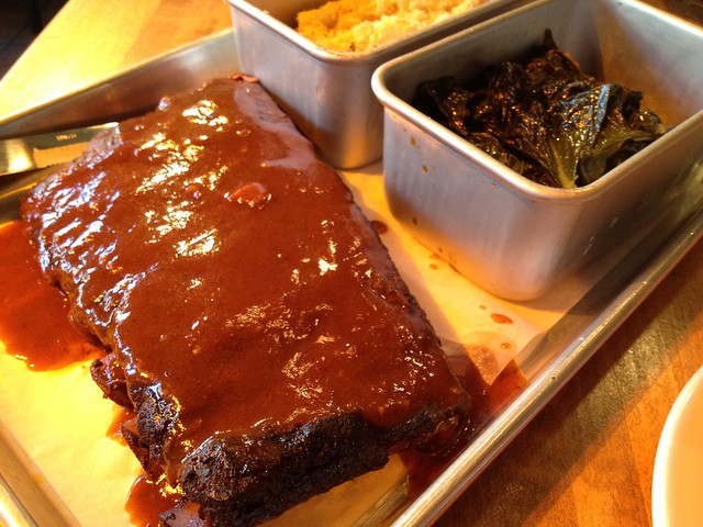 St. Louis pork spare ribs - The Dancing Pig