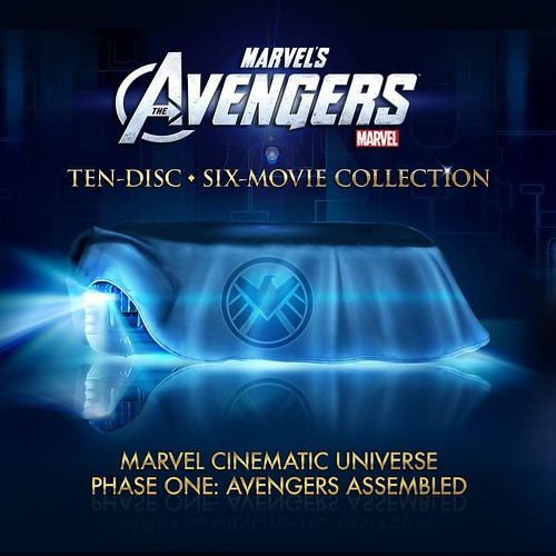 Marvel's Avengers 10-disc set