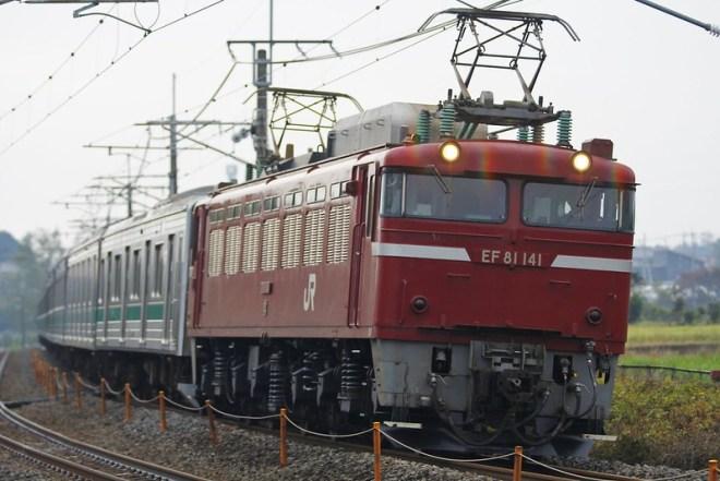埼京線205系ハエ4編成 海外譲渡輸送