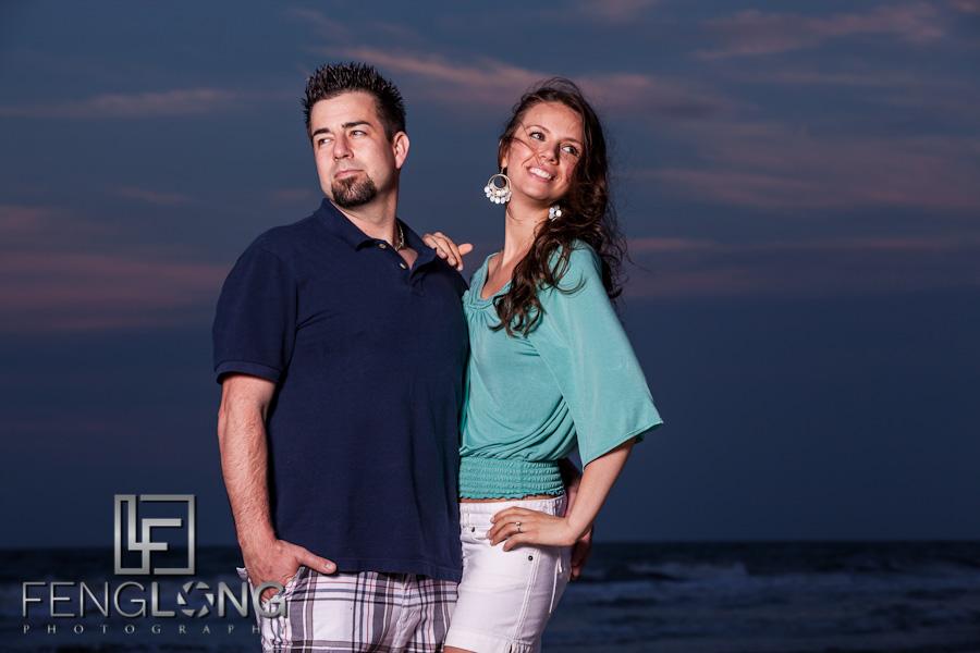 Mirela & Justin's Engagement Session | Folly Field Beach Hilton Head Island, SC | Atlanta Destination Wedding Photographer
