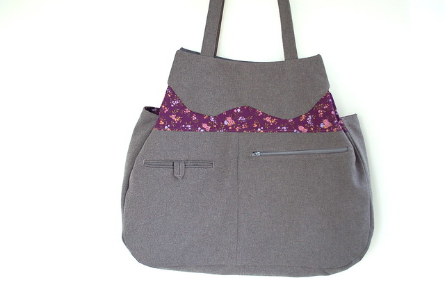Eco-friendly shoulder bag