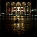 the rain, Lincoln Center