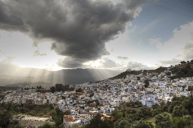 City View, Chafchaouen, Morocco