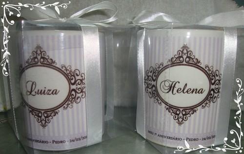 Canecas personalizada Luiza e Helena by by Luciana Godoy - Lembrancinhas Personalizadas