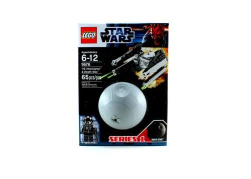 9676 TIE Interceptor & Death Star - Box Front