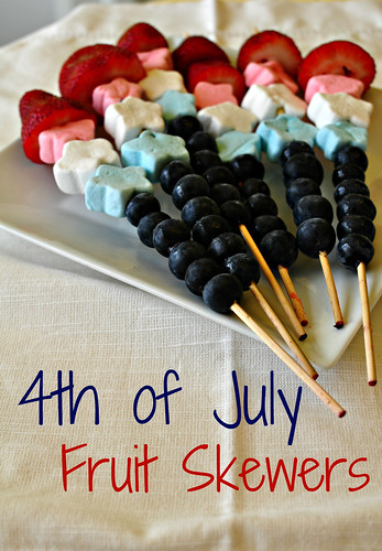 4th of July Fruit Skewers