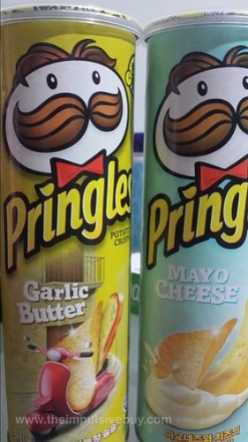 Pringles Garlic Butter and Mayo Cheese (Korea)
