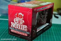 Char Zaku Nissin Cup Gunpla 2011 OOTB Unboxing Review (2)