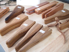 Wooden kitchen utensils. Real Food Cafe and Grocer Killiney