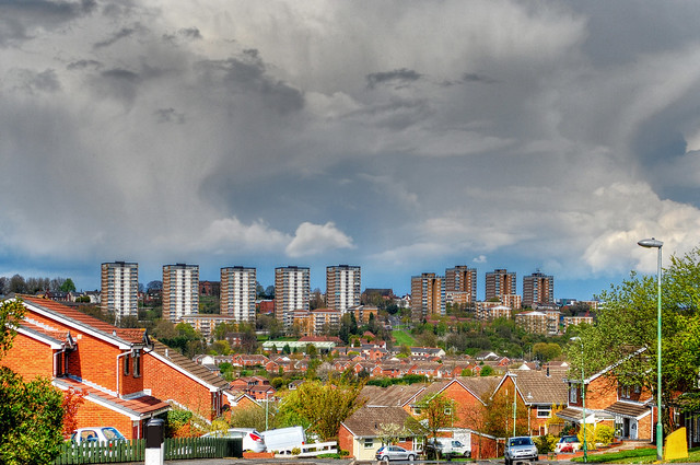 Chapel Street Estate, Brierley Hill. Photo by Brian Clift, used under Creative Commons licence. Click pic for link.