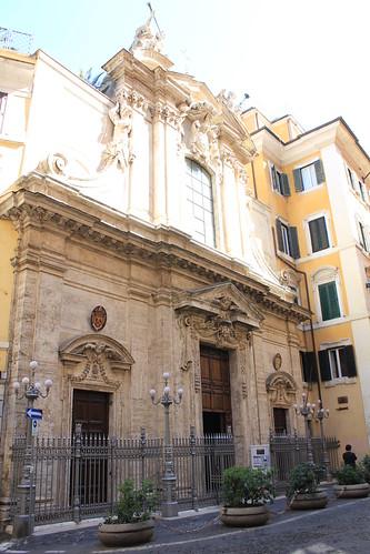 San Antonio de los Portugueses fachada by Hesperetusa