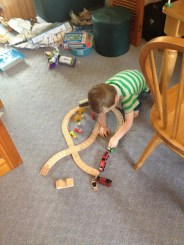 Trains for my birthday