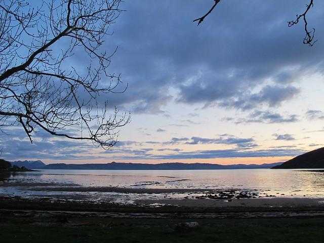 Applecross bay - looking to Skye