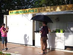 An Umbrella for 2. Singapore Arts Festival 2012