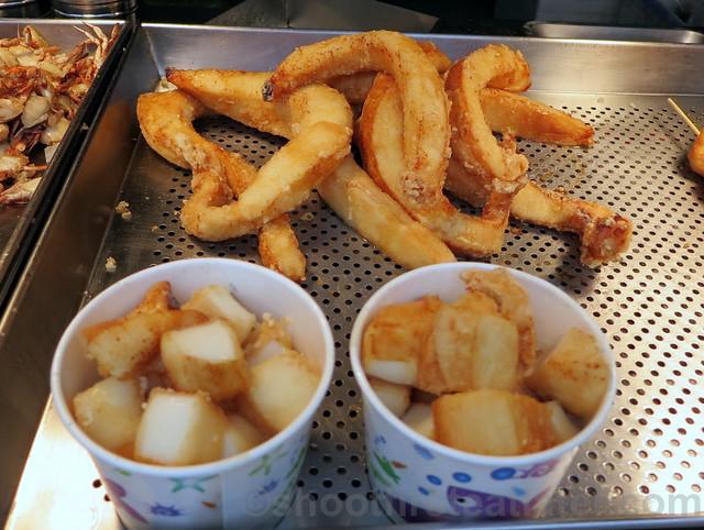 Tamsui, Taipei- fried octopus