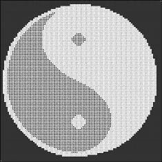 Yin Yang Altercloth