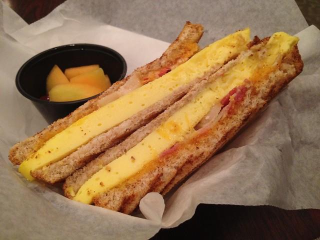 Bacon egg breafast sandwich - Cafe Fresca