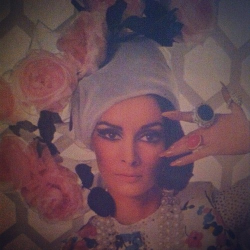 #photoadayjune Day 6 - Hat. Page snap from Diana Vreeland After Diana Vreeland my new book.