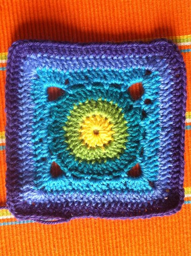 New baby blanket - WIP