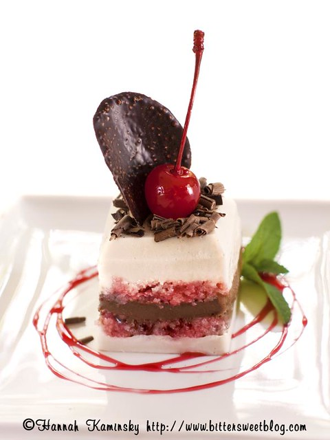 Contemporary Getman Chocolate Cake