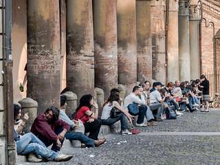 Bologna University Students by micurs
