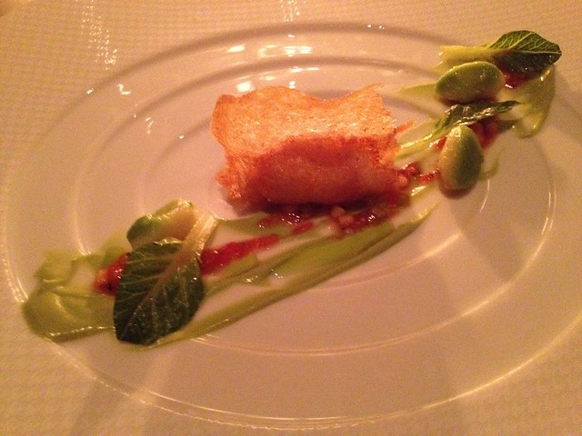 "Alaskan king crab ""sandwich"" - The French Laundry"