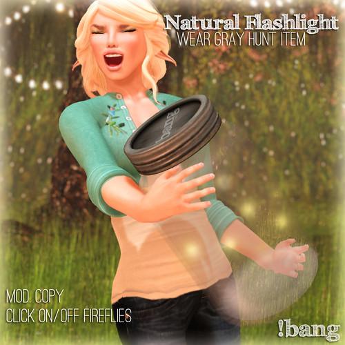 !bang - natural flashlight
