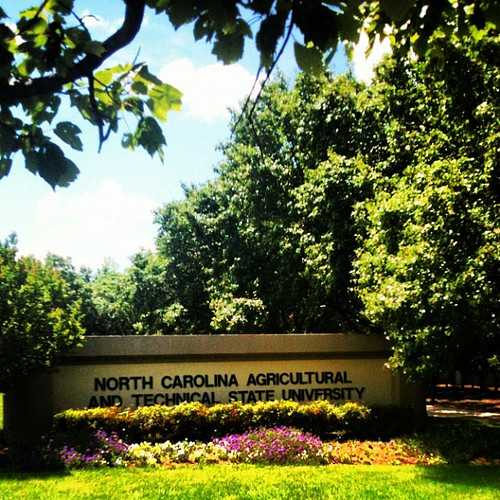 North Carolina A&T State University by Greensboro NC