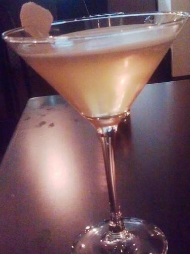ginger soju brown sugar martini