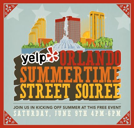 Yelp Orlando Street Soiree