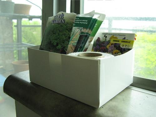 Garden Supply Organizer
