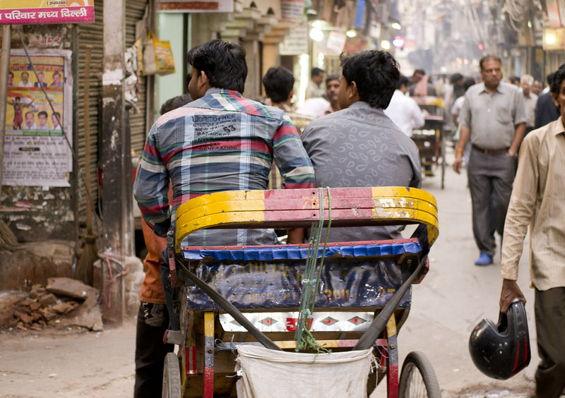 In the back alleys of Chandni Chowk