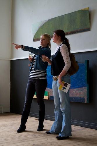 Esther van Dijk en Manon van Silfhout by AlleskAn - Kunstlokaal №8