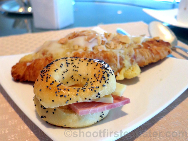 ham & cheese bagel