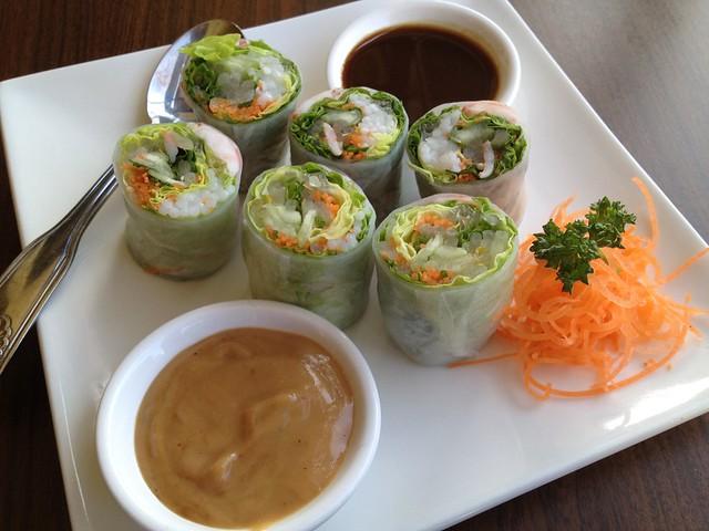Prawn spring rolls - Siam Saigon