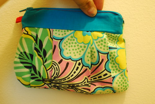 Pleated Clutch Purse