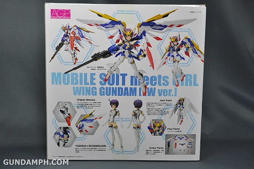 Armor Girls Project MS Girl Wing Gundam (EW Version) Review Unboxing (4)