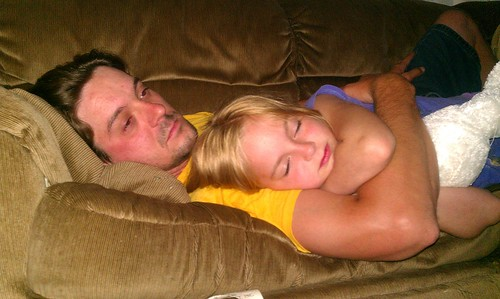 169/366 [2012] - Father-Daughter Cuddles by TM2TS