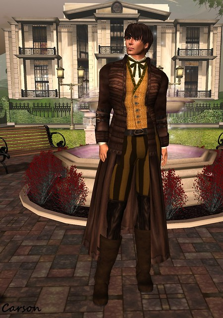 BlakOpal Designs - Brown Hawkesworth Outfit