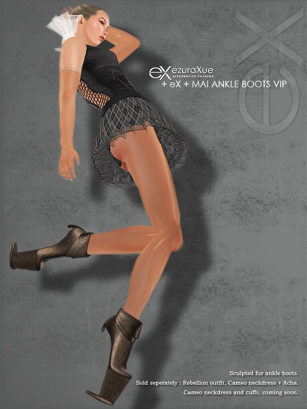 + eX + MAI Ankle Boots VIP